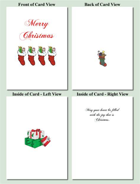 printable quarter fold christmas cards christmas card templates free printable free printable