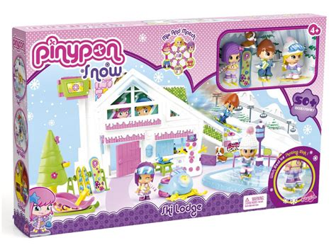 Ski Giveaway - pinypon ski lodge playset review giveaway