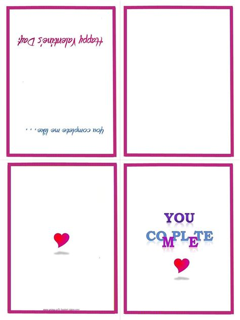 A4 Printable Card printable greeting card template vastuuonminun