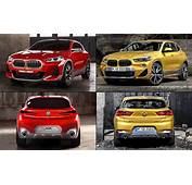 New BMW X2 Crossover Concept Vs Production  CARmagcoza