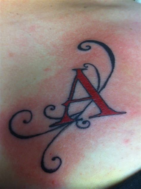 the letter a tattoo designs scarlet letter by nathaniel hawthorne pretty but