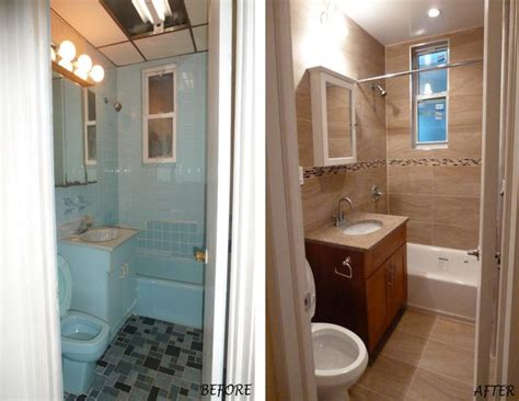 before and after small bathrooms small bathroom remodel before and after nrc bathroom
