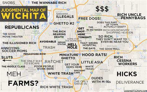 Judgmental Maps Wichita Ks By Anonymous Copr 2014