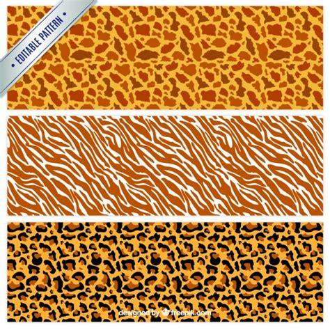pattern animal vector wild animal print patterns vector free download