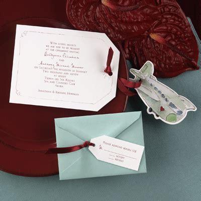 airplane wedding invitations 10 tips for choosing wedding invitations