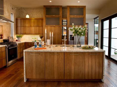 hickory wood kitchen cabinets photos hgtv