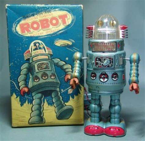 Tin Toys Classic Space Robot antique toys vintage space toys antique appraisals