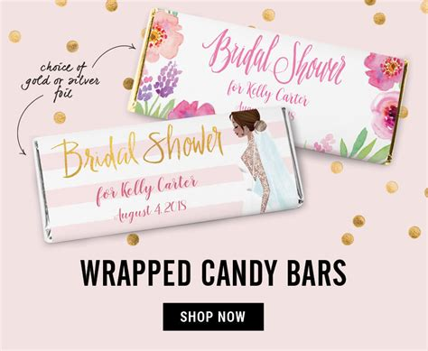 bar bridal shower favors 2 personalized bridal shower favors wedding shower favors bars