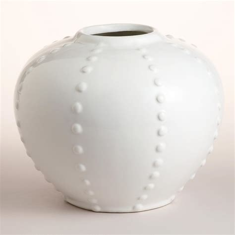 white ceramic vase world market