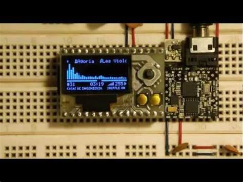 my own diy mp3 player with oled screen youtube