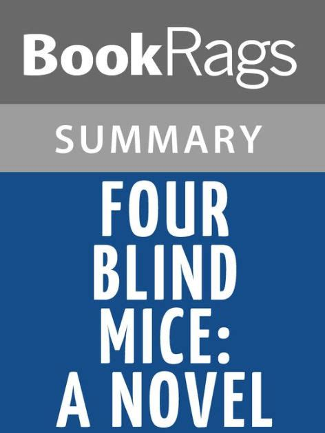 four blind mice 0747263493 four blind mice a novel by james patterson l summary study guide by bookrags nook book