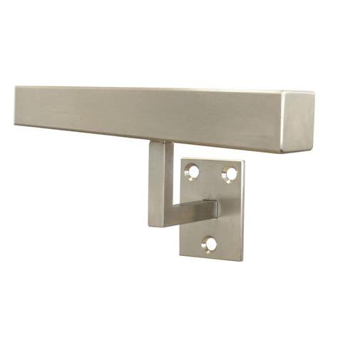 treppenhandlauf edelstahl handlauf edelstahl eckig 35x35mm vierkant