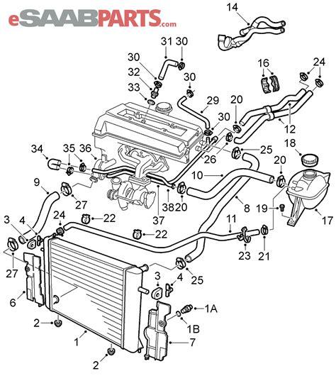 saab 93 parts diagram saab engine diagram wiring diagram manual