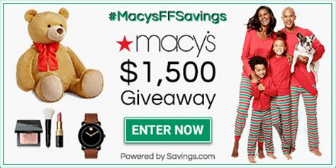 Can I Use Macy S Gift Card At Bloomingdales - contest win a 100 macy s gift card hey it s free