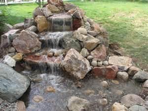 Backyard Pond Supplies Kbt Waterfalls Pondless Waterfalls