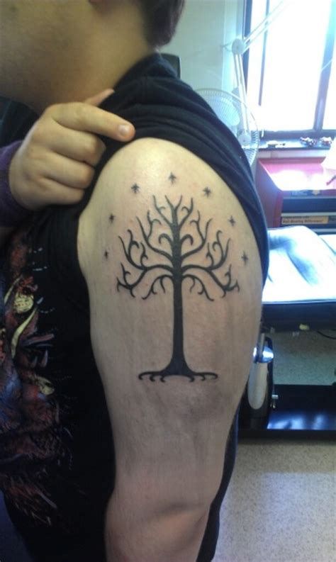 tattoo of tree of gondor it d be sweet to get this with a