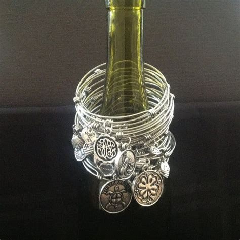 custom alex and ani inspired bangle bracelets by