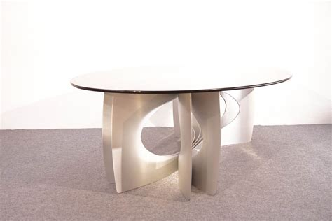 vintage glass coffee table vintage aluminum glass coffee table for sale at pamono
