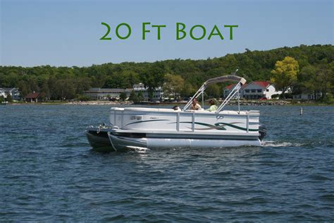 pontoon boat sizes south shore pier door county boat rentals pontoon