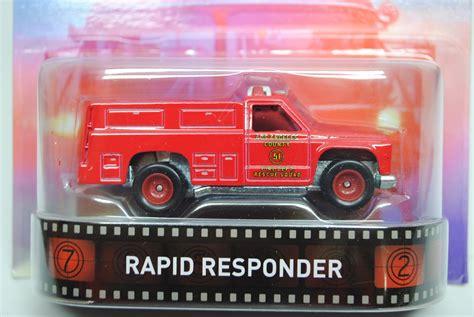 Hotwheels Rapid Responder cfr12 rapid responder emergency s 201 rie retro 2015 wheels estantes brinquedos e