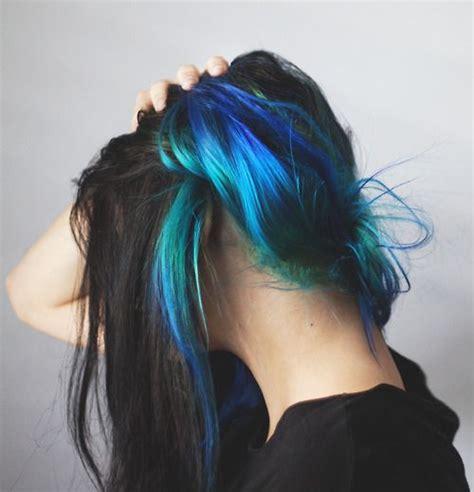 how to dye hair dark underneath best 25 dyed hair underneath ideas on pinterest crazy