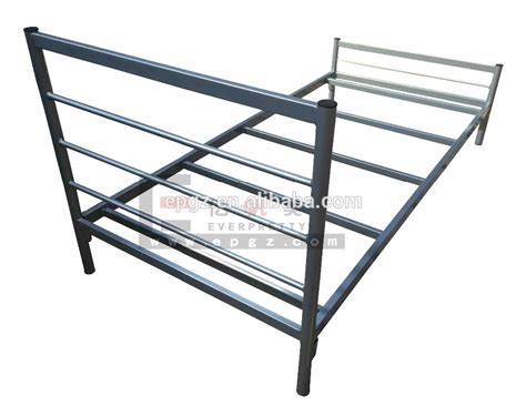 strong single bed frame strong single stackable metal bed frame single