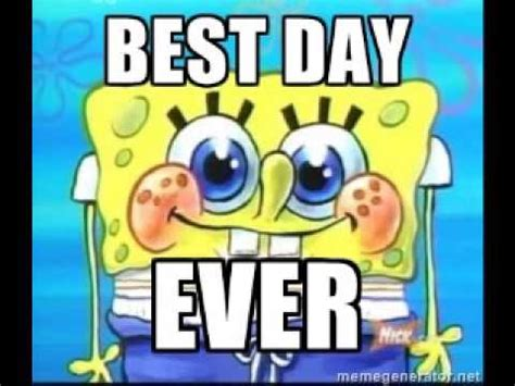 besta day spongebob best day ever 1 hour youtube