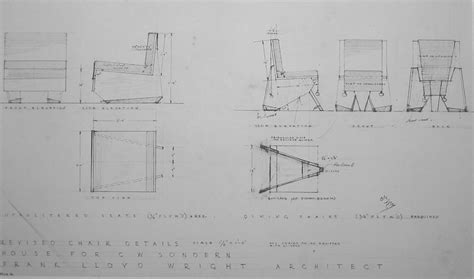frank lloyd wright blueprints plans to build frank lloyd wright origami chair plans pdf