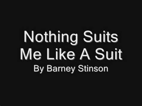 theme song lyrics for suits nothing suits me like a suit lyrics youtube