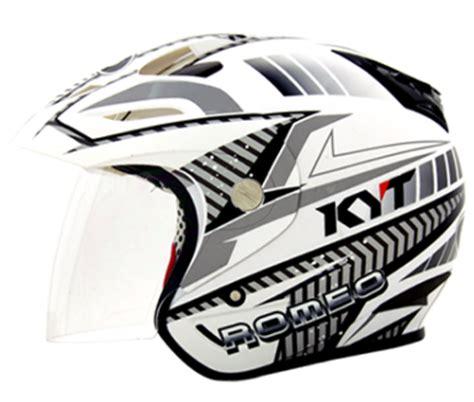 Kyt Romeo Solid By Azka Helmet daftar harga terbaru helm kyt half safety
