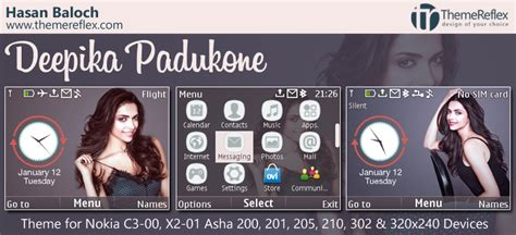 animated themes for nokia asha 210 deepika padukone animated theme for nokia c3 00 x2 01