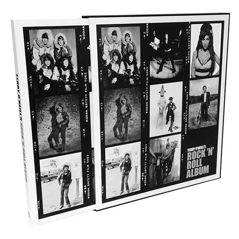 libro terry oneills rock n terry o neill s limited edition rock n roll photobook acc distribution ahalife
