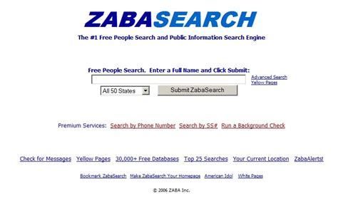 Zabasearch Free Search Zabasearch Danyalsak