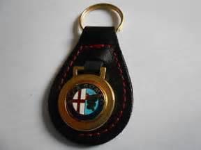 Alfa Romeo Keychain Alfa Romeo Leather Keychain Keyring Portachiave