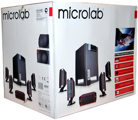 Microlabs 51 Acoustic System For 100 by Microlab X15 5 1 Speaker System 13 Days Used Clickbd