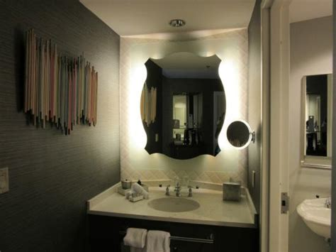 vanity outside bathroom picture of rock hotel at