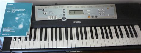 Keyboard Yamaha E203 yamaha psr e203 image 240306 audiofanzine