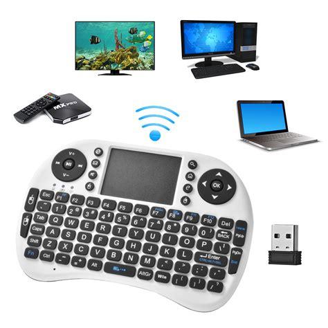 Keyboard Wireless Untuk Laptop multifunction mini wireless qwerty keyboard mouse touchpad for pc laptop ac625 ebay