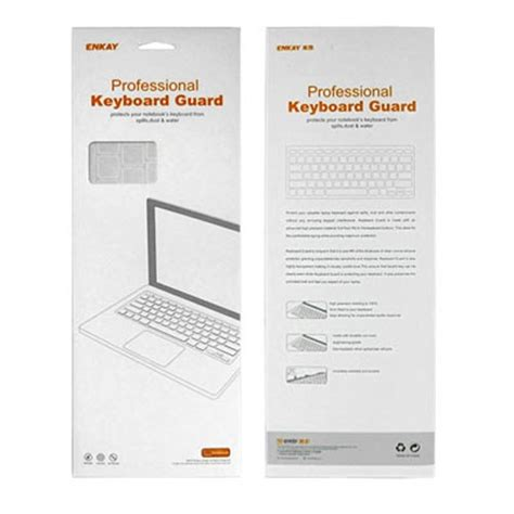 Keyboard Protector 15 4 Inch Black enkay silicone soft keyboard protector cover skin for