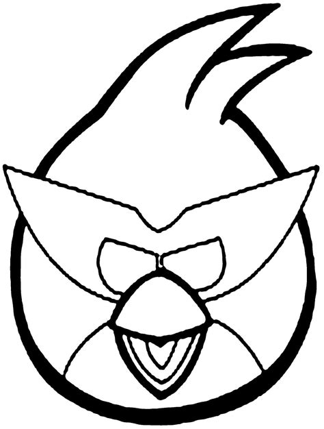 easy bird coloring page easy angry bird coloring pages coloringsuite com