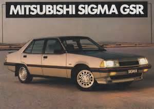 Mitsubishi Sigma Gsr Cc Outtake 1978 87 Mitsubishi Sigma Hugely Popular
