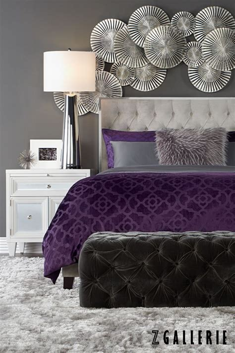 Gray And Purple Bedroom Ideas by Best 25 Purple Bedroom Decor Ideas On