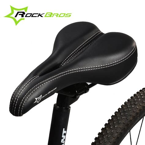 comfortable bike saddles rockbros 4 colors bicycle saddle soft comfortable soft mtb