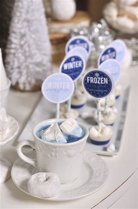frozen hot chocolate on a stick frozen themed hot chocolate bar your homebased mom