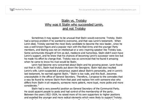 Stalin Essay by Stalin And The Ussr Essay