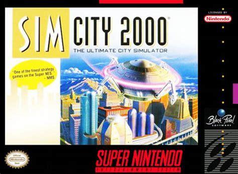 Home Design Games For Xbox 360 Simcity 2000 Snes Super Nintendo