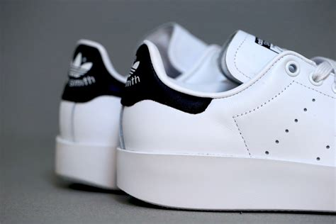 adidas originals stan smith bold white core black stasp