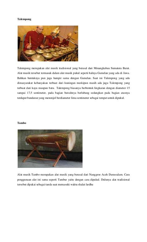 Sumatra Revolusi Dan Elite Tradisional 1 alat musik tradisional indonesia dan asalny1