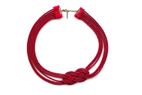 knots for jewelry make a gorgeous nautical knot rope necklace