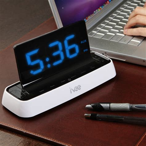 ivee voice activated alarm clock gadgetsin